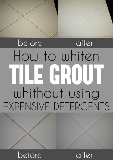 How To Whiten Tile Grout Without Using Expensive