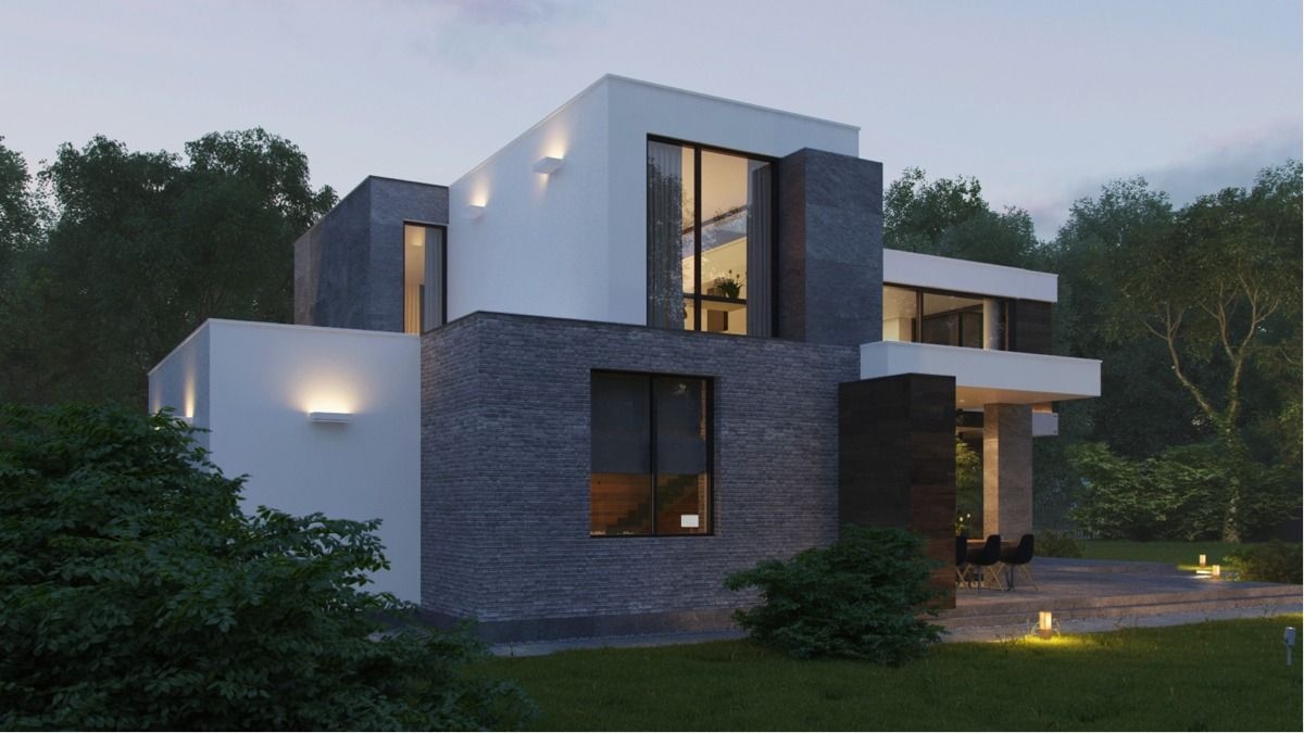 Modern Home Exteriors With Stunning Outdoor Spaces Small