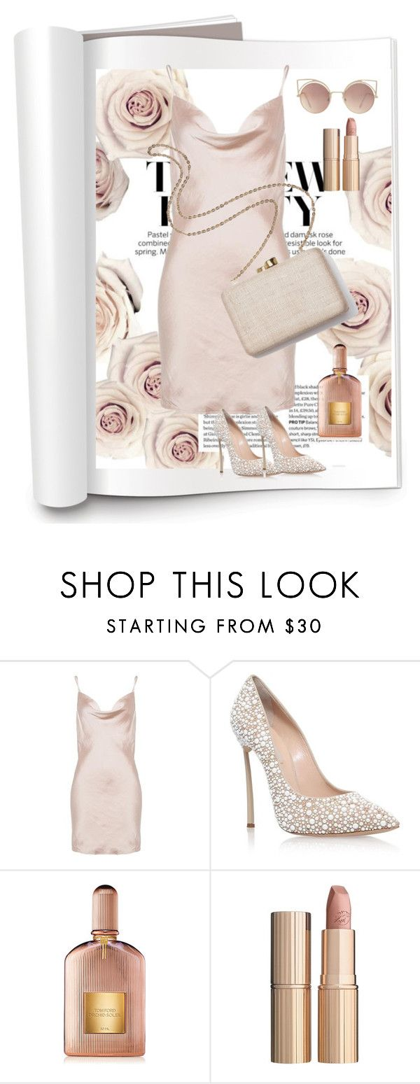 """""""Happy night #133"""" by taniouche16 ❤ liked on Polyvore featuring Casadei, Kayu, Tom Ford, Charlotte Tilbury and MANGO"""