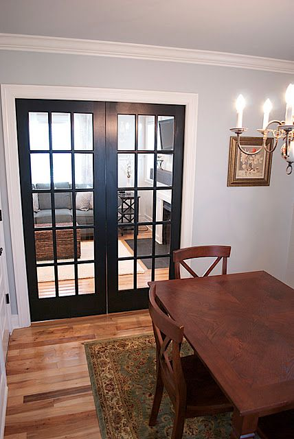 French Pocket Doors Would Love To Have One In A Dining Room Day