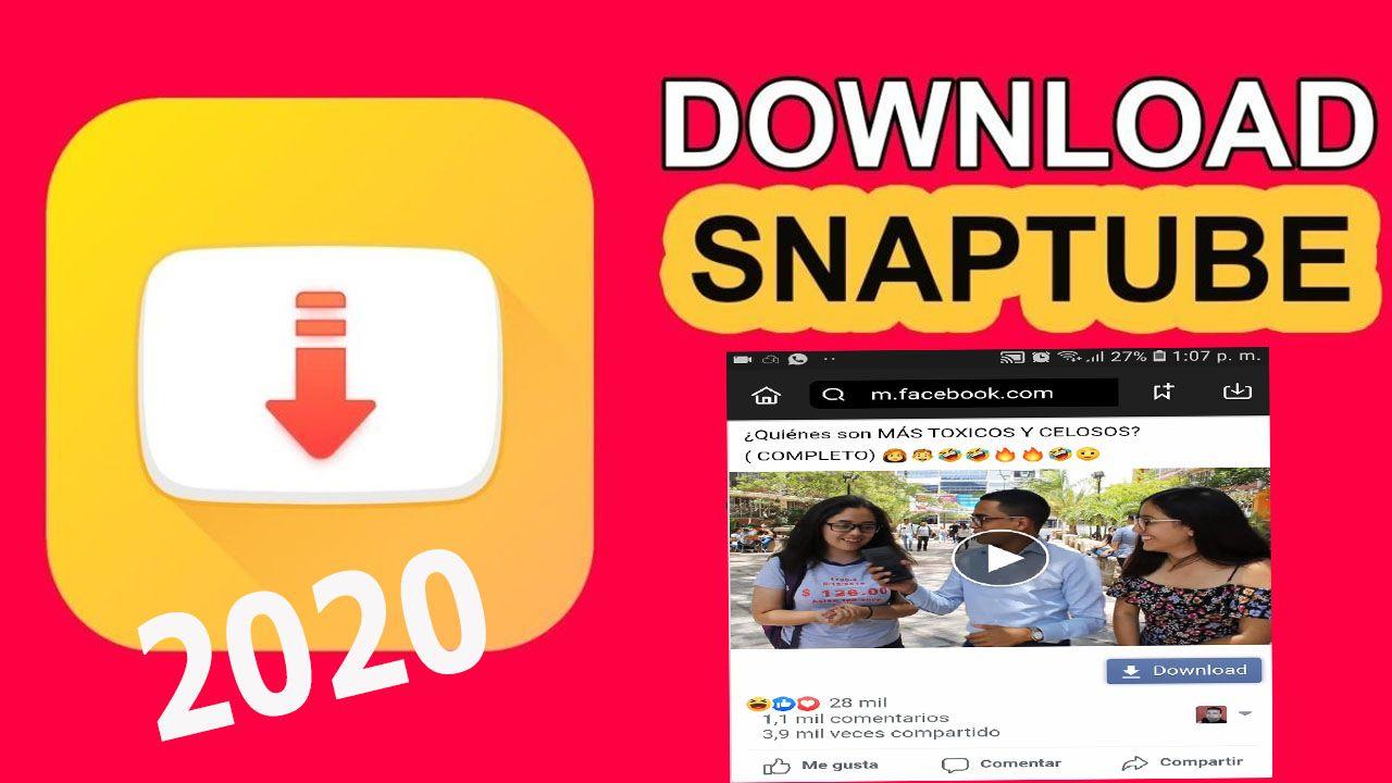 Snaptube 2020 Descargar Ultima Versión Gratis En Español Descargar Música Edicion De Video Descargar Video