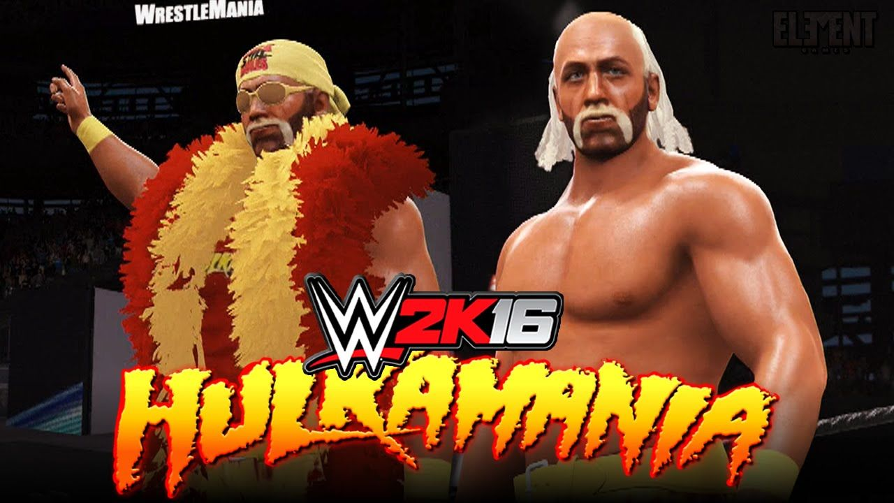 Epic Hulk Hogan Entrance & Finisher