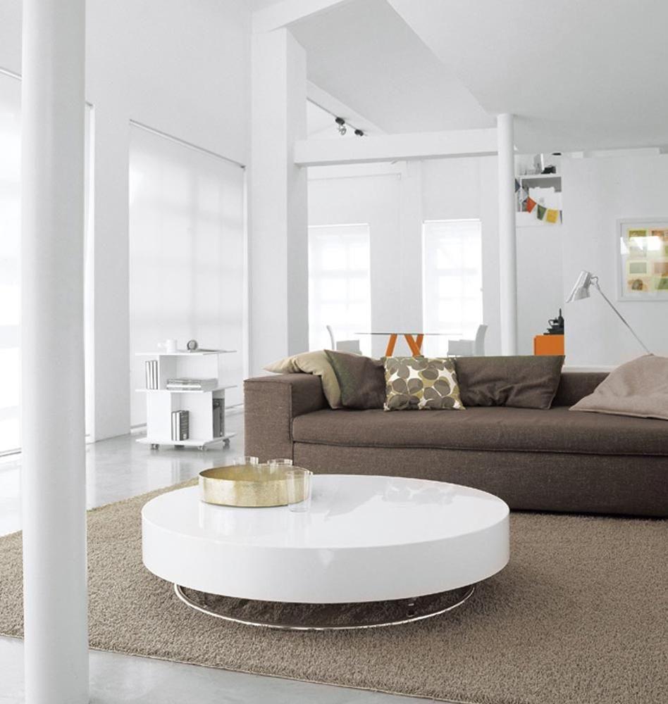 nett runder wei er couchtisch casa in 2019 couchtisch. Black Bedroom Furniture Sets. Home Design Ideas