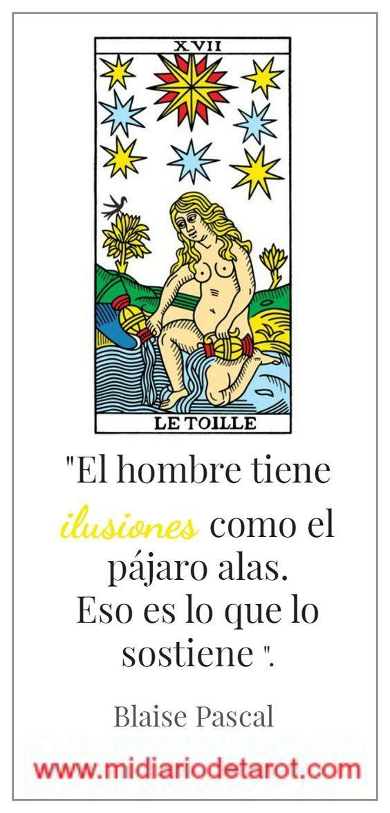Tarot Arcano Mayor Xvii La Estrella Tarot Tarot Marsella Tarot Cartas Significado