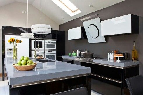 Great Kitchen Layout, Not So Much The Colours, And Iu0027d Add The Hob To The  Island