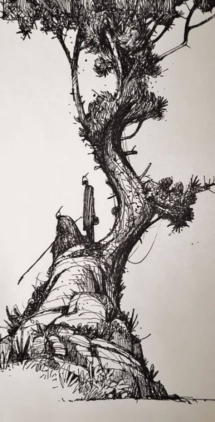 Landscape drawing pencil sketches pen and ink 43 ideas for 2019