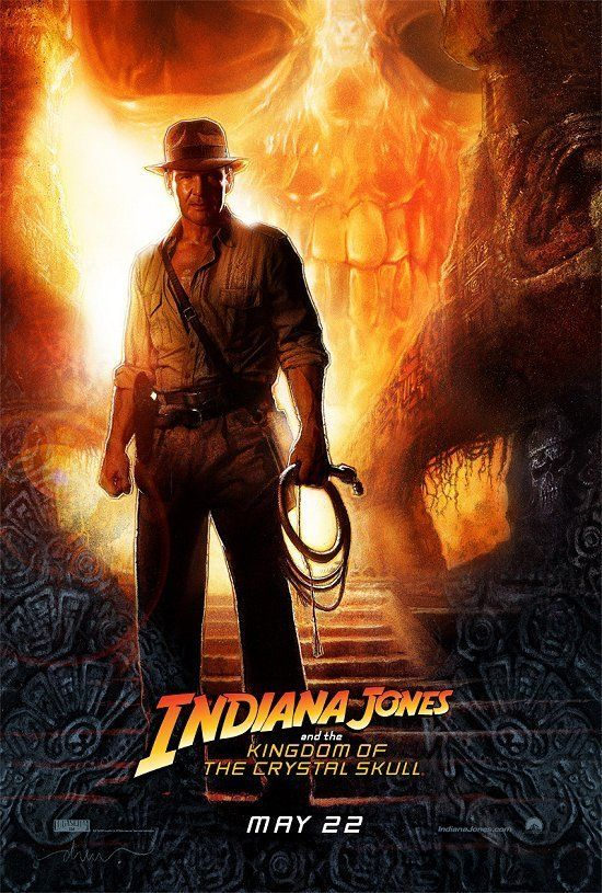 Indiana Jones and the Kingdom of the Crystal Skull (2008).