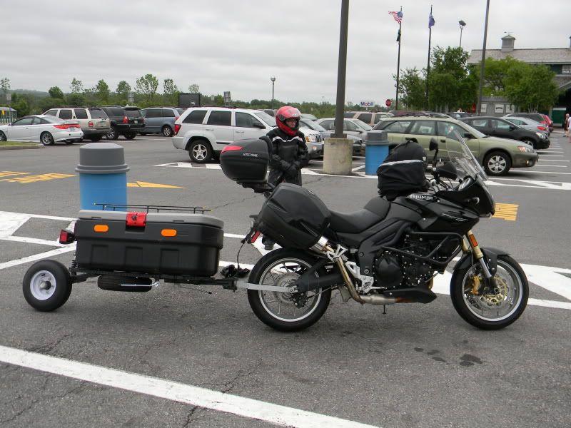 My Home Made Single Wheel Trailer Motorcycle Trailer