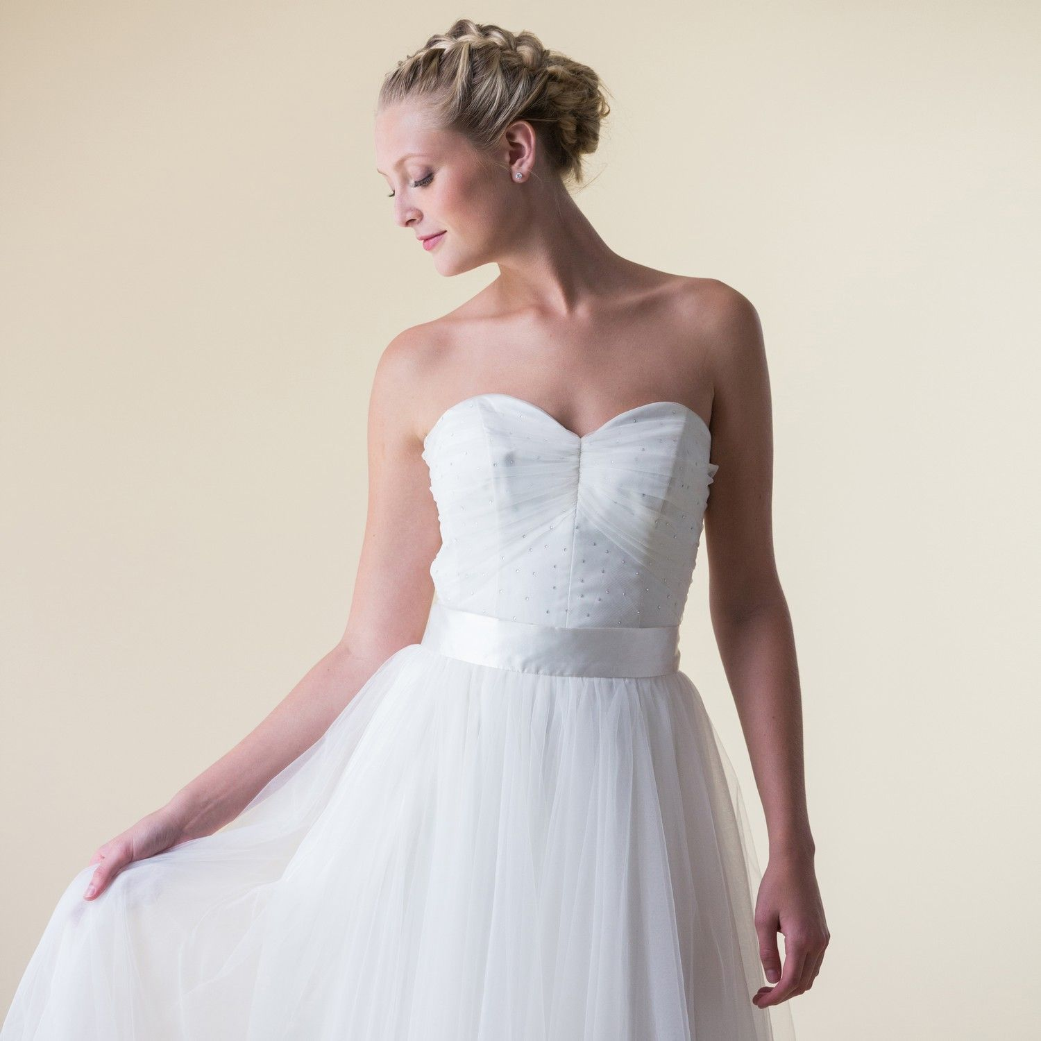 An exquisitely ethical wedding dress. The Florence | Ethical & Eco ...