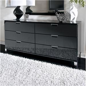 Best Howick Modern Dresser With Chrome Color Metal Feet By 400 x 300