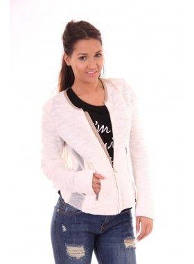 Sylvian Heach Printchard jacket in wit