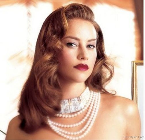 1940 S Hairstyles Hollywood Hair Vintage Hairstyles For Long Hair 1940s Hairstyles