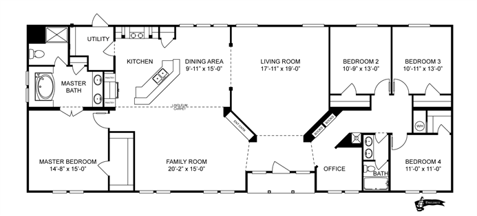 Interactive Floorplan 09b6604k 73bul32764eh Clayton Homes Of Festus Festus Mo Floor Plans House Plans Clayton Homes