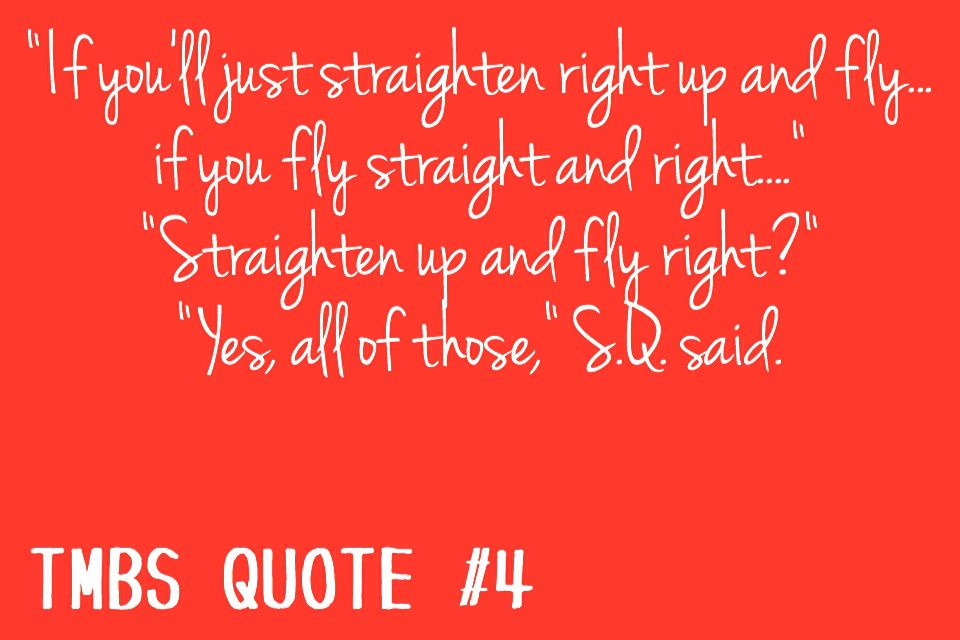 Sq Quote Awesome S.q Was One Of My Favourite Characters He Only Ever Wanted To Do .