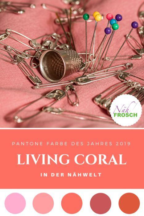Pantone Farbe 2019: Wie ihr Living Coral kombinieren könnt ...