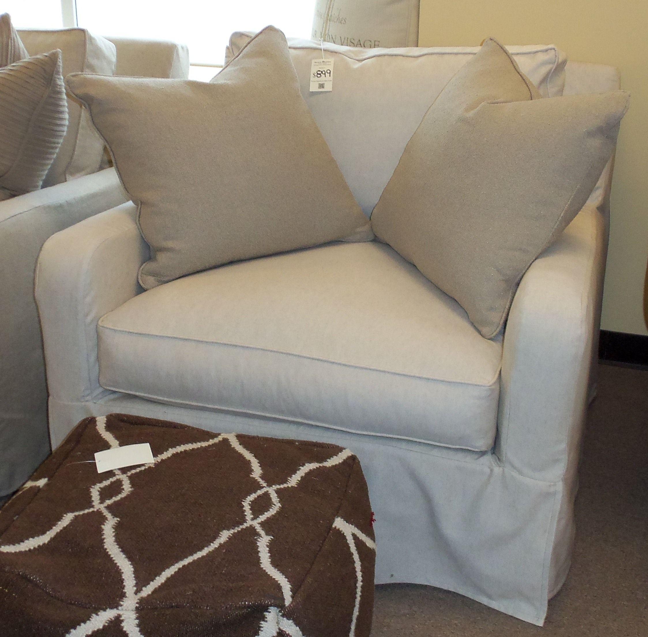 Just Arrived Robin Bruce Havens Slipcover Chair Barnett Furniture In Trussville Birmingham Al
