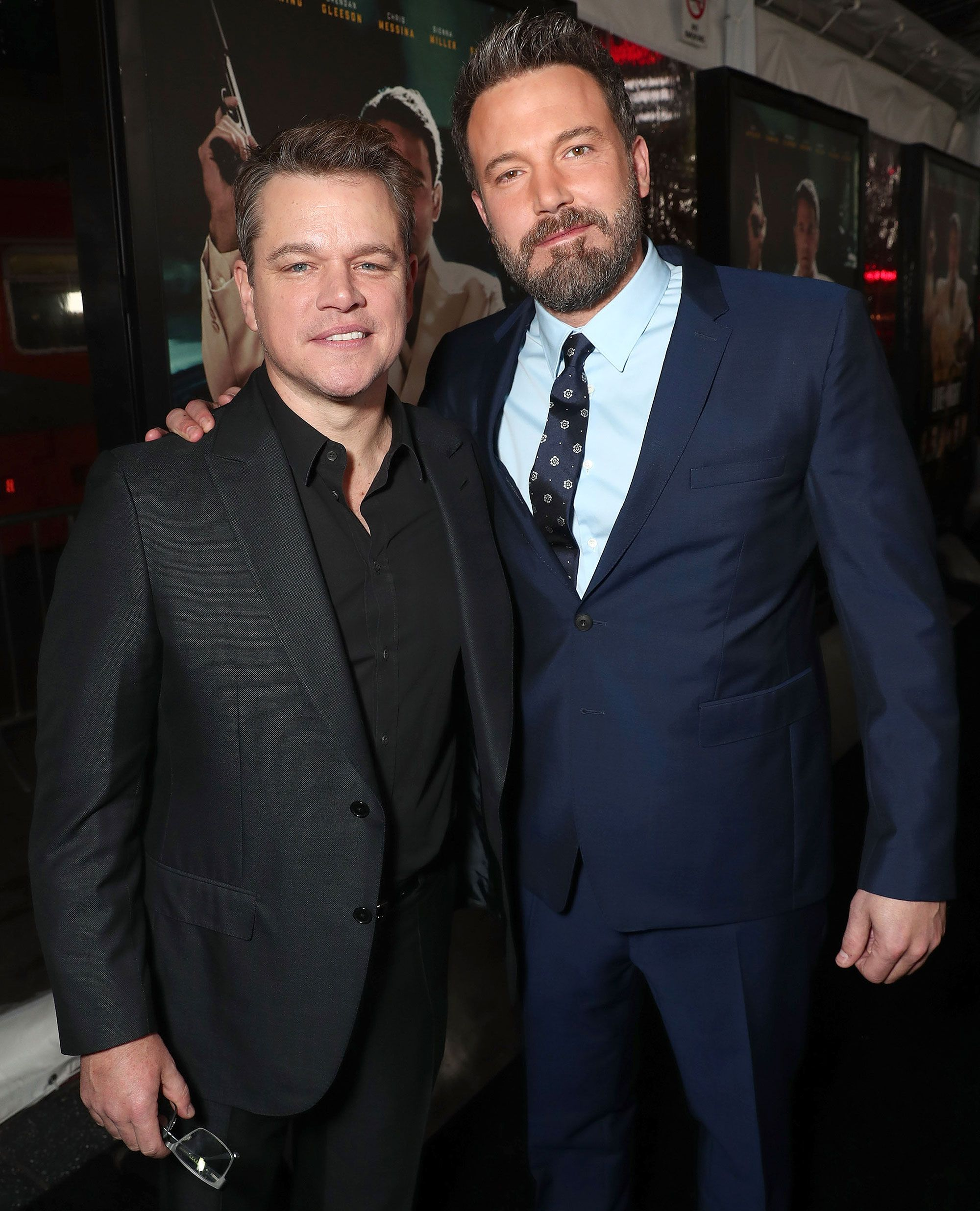 Ben Affleck Jokes He S Team Jimmy Kimmel After Claims Matt Damon Dumped Him For Chris Hemsworth Matt Damon Ben Affleck Matt Damon Family