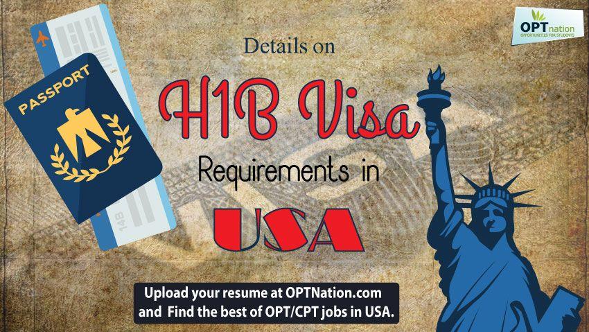 H1B Visa Requirements The International Work Visa USA