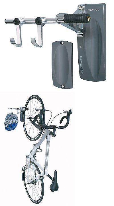 Bicycle Stands and Storage 158997: Wall Mount Bike Rack Helmet Hanger Bicycle Storage Organizer Hook Garage Home BUY IT NOW ONLY: $64.75
