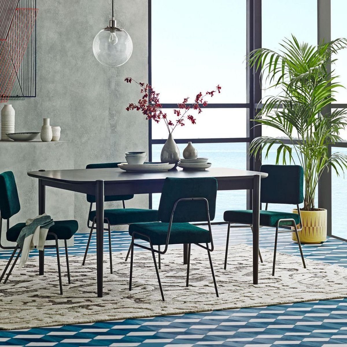 77 Wire Dining Room Chairs Modern