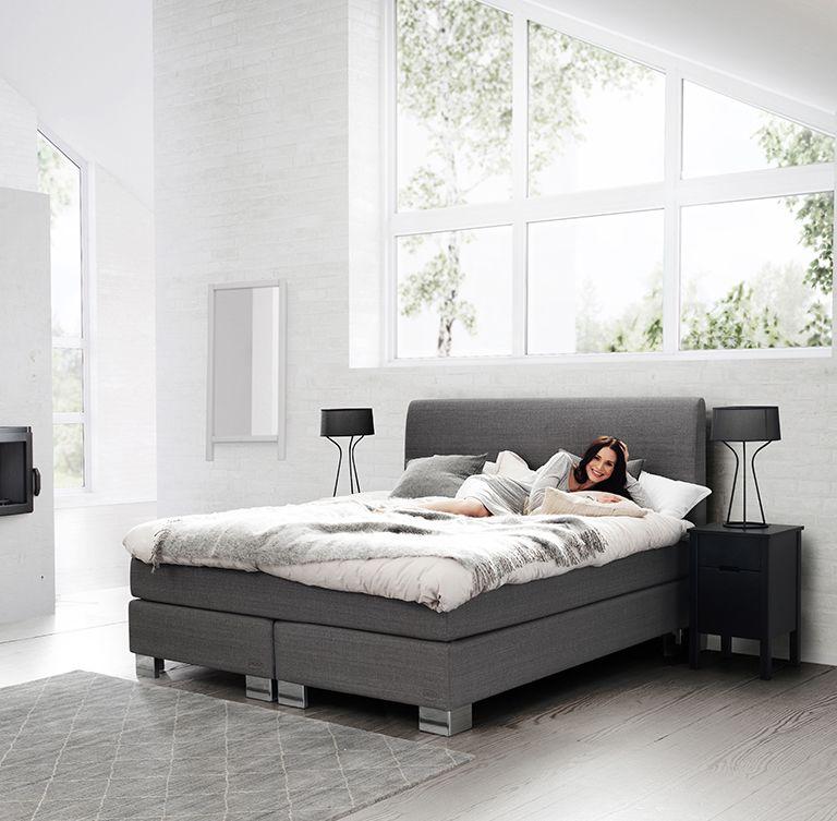 jensen ambassador continental bed grey jensen supreme. Black Bedroom Furniture Sets. Home Design Ideas