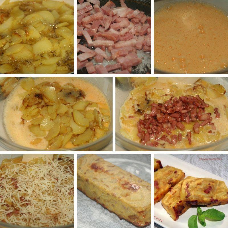 receta de tortilla a la carbonara
