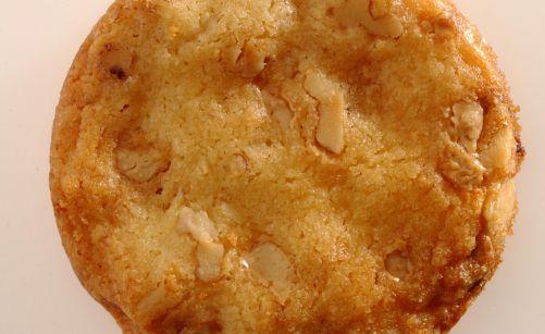 Cookies au chocolat blanc et aux noix de macadamia par Alain Ducasse