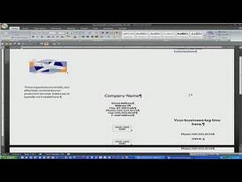 can you make a brochure on microsoft word