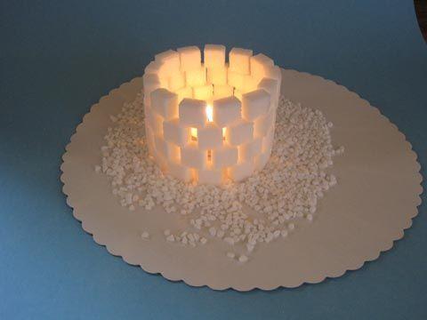 bastelvorlage weihnachten windlicht iglu zum basteln. Black Bedroom Furniture Sets. Home Design Ideas