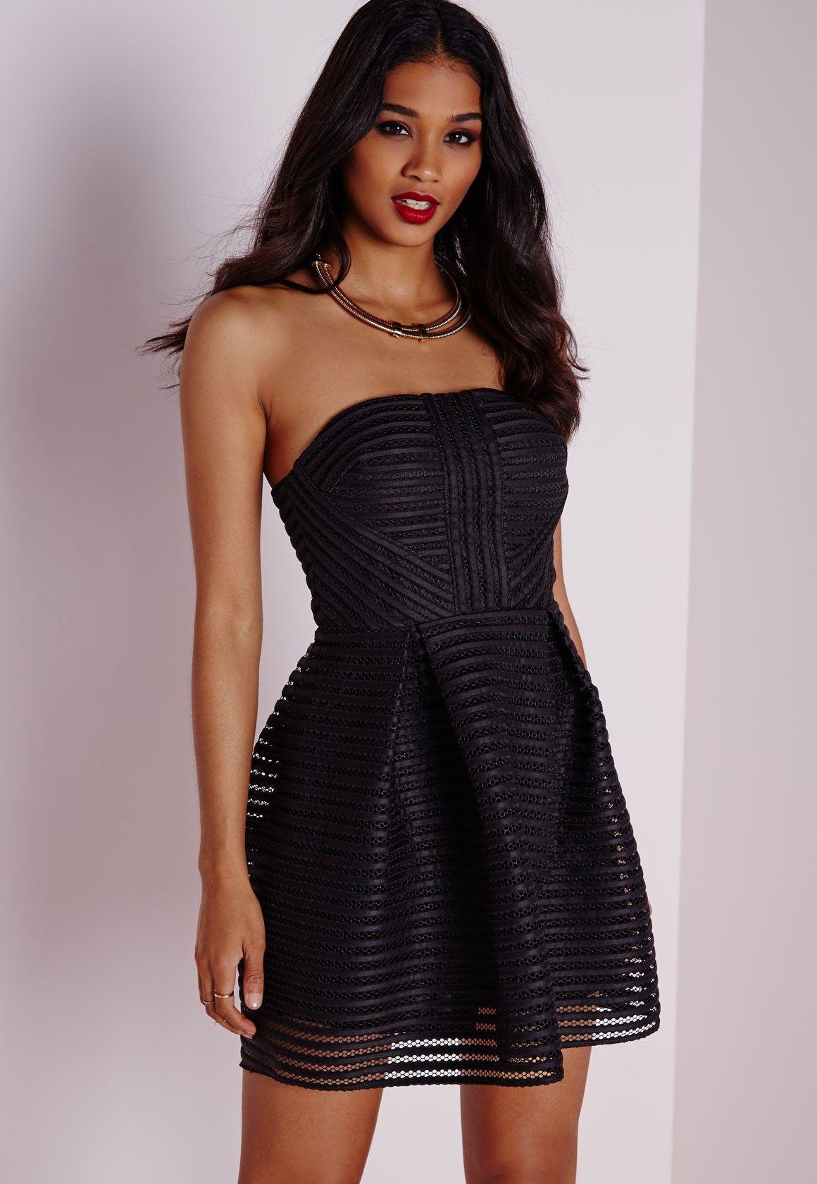 Mesh Strapless Skater Dress Black Dresses Skater Dresses Black Dresses Online Mesh Tube Dress Short Sleeve Mini Dress [ 1680 x 1160 Pixel ]