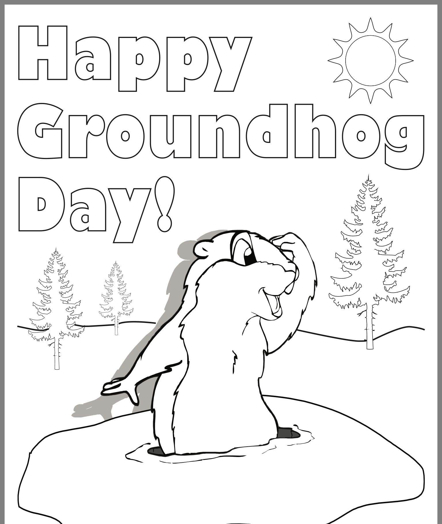 Pin By Pat Heusmann On Groundhog Day