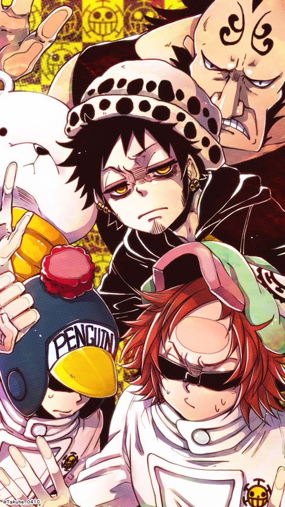 Heart Pirates One Piece Anime One Piece Pictures Anime