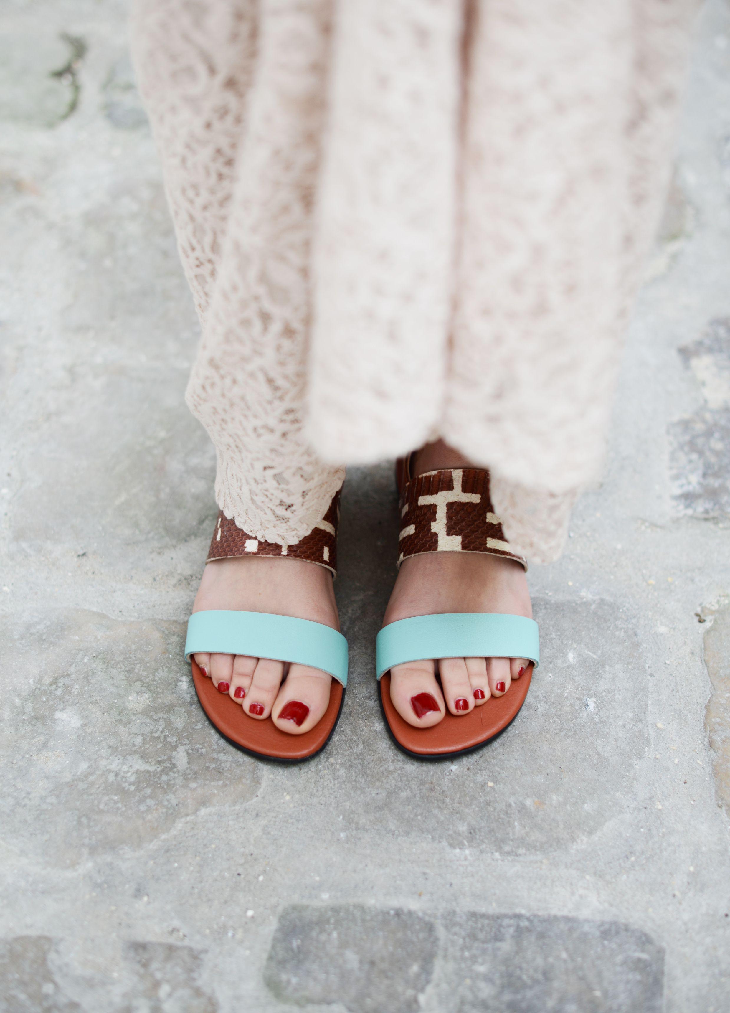Sandales LILA //  MY SUELLY shoes // Créateur français // Printemps / Eté 2015    www.franciedesign.fr