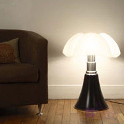 Assez PIPISTRELLO - LAMPE A POSER LAQUE NOIR BRILLANT de MARTINELLI LUCE  JU61