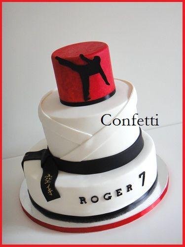 Karate Kid Cake