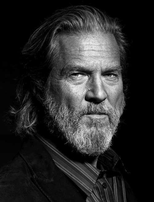 Jeff Bridges Older Long Hairstyles