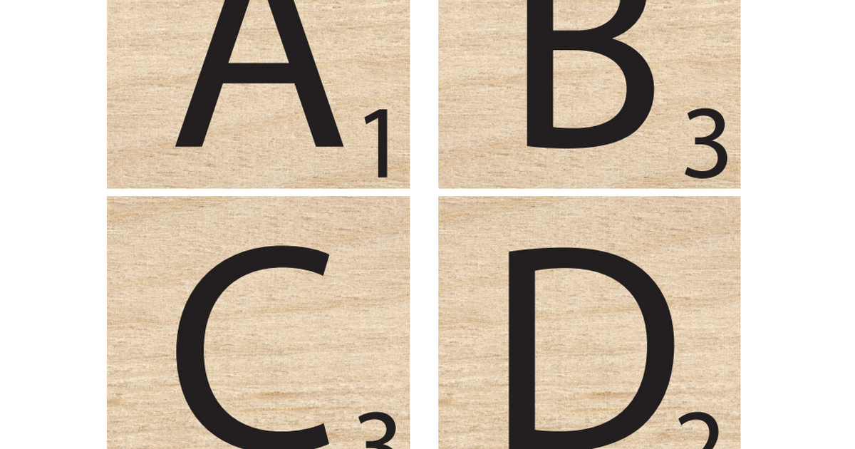 It's just a graphic of Mesmerizing Printable Scrabble Board Pdf