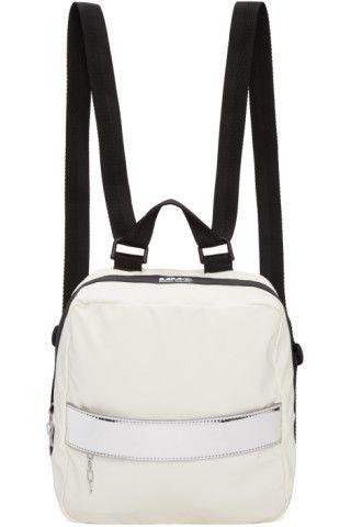 b343094904e MM6 Maison Margiela - White Rubber Backpack   BAGS   Pinterest ...