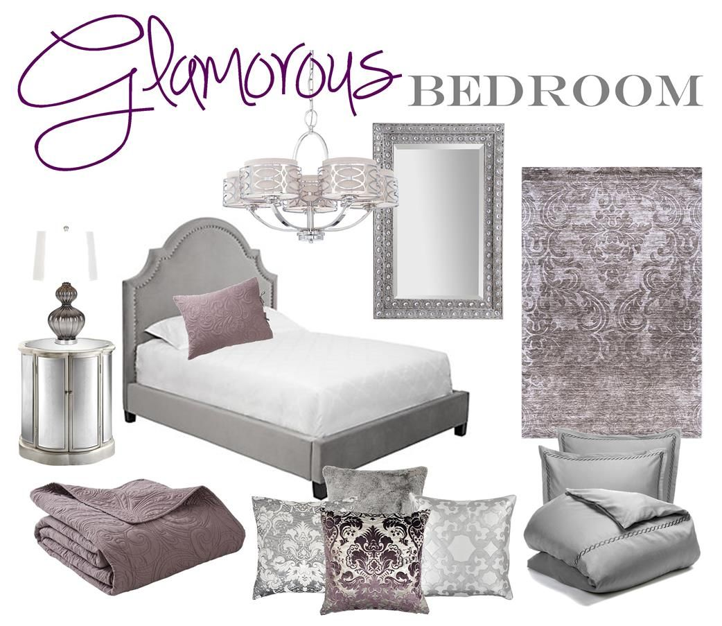Glamorous bedroom mood board brass whatnots home - Appartement decoration design glamour vuong ...