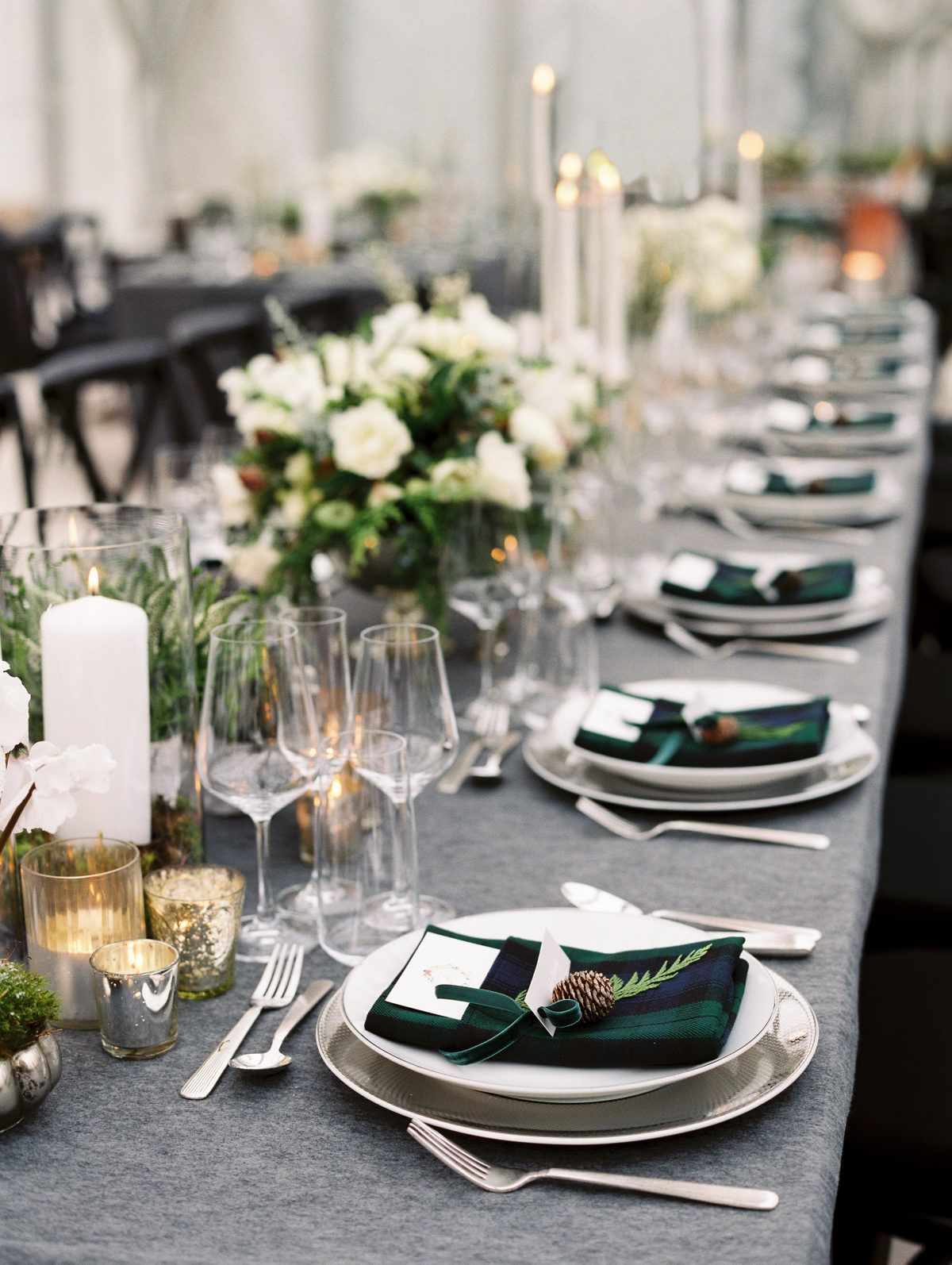 Take a Peek at a Wedding Inspired by Ralph Lauren's Iconic Style #gedecktertisch