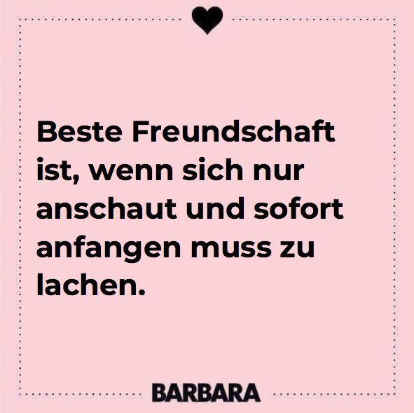 Beste Freundschaft ist, wenn man sich nur anschaut und sofort anfangen muss zu lachen. Sprüche für die beste Freundin #zitate #sprüche #freundschaft