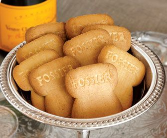 Maison Fossier champagne butter cookies