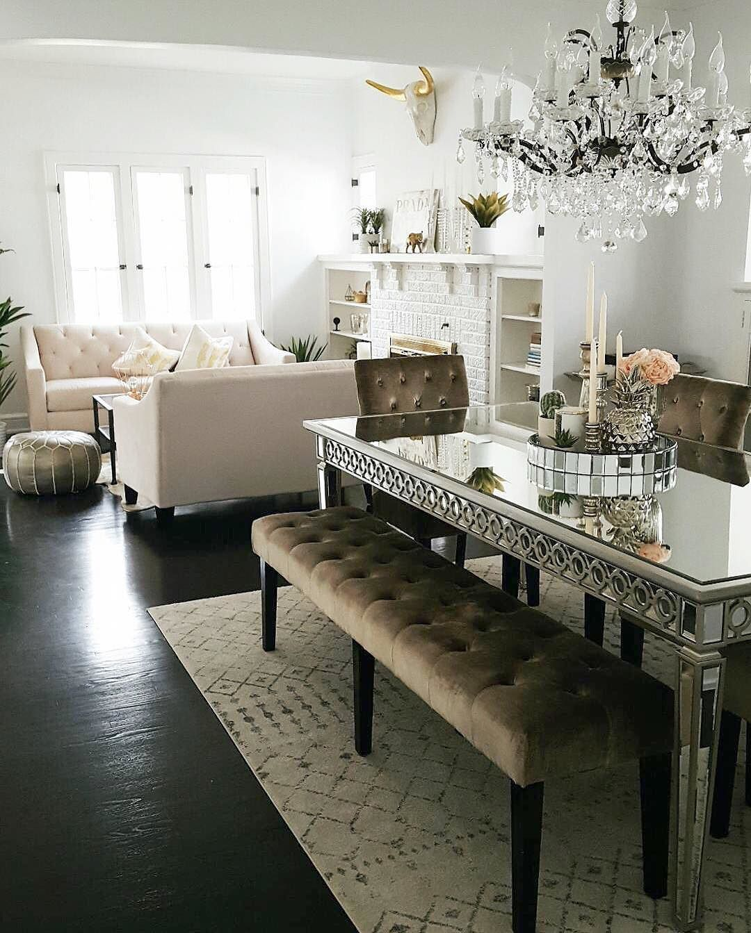 Awe Inspiring Zgalleriemoment Our Sophie Mirrored Dining Table And Lola Machost Co Dining Chair Design Ideas Machostcouk