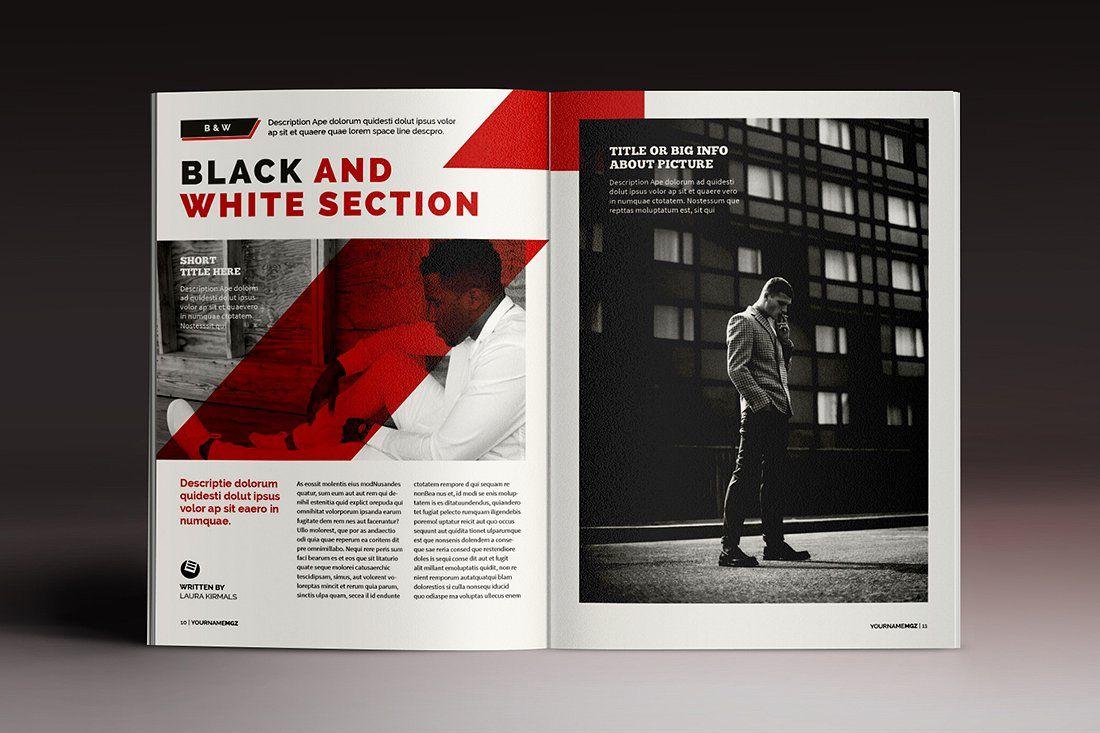 15 Indesign Magazines Brochures Indesign Templates Indesign Magazine Design Inspiration