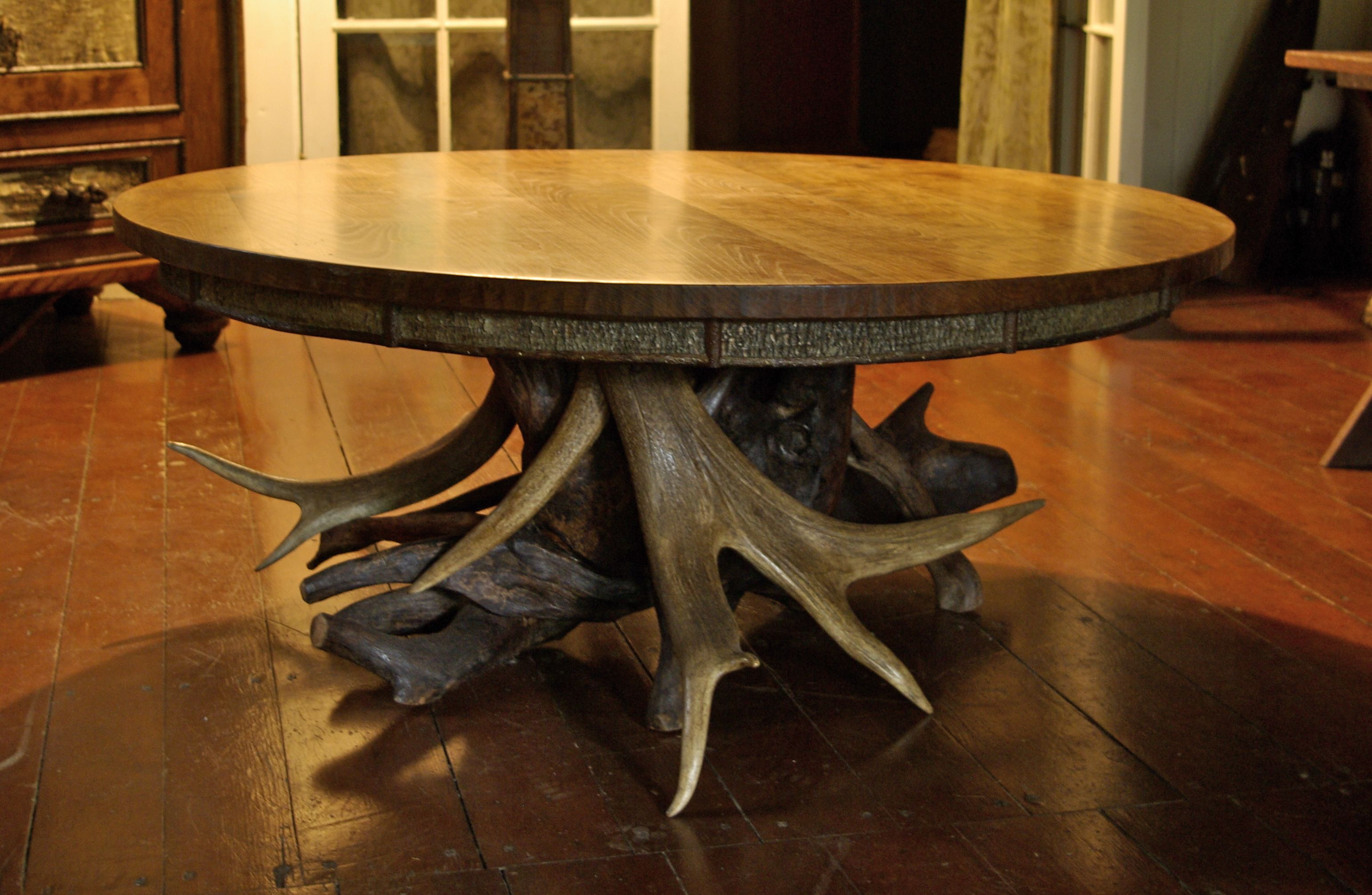 Wwwlpostrusticscom rustic cherry coffee table with elk for Rustic cherry coffee table