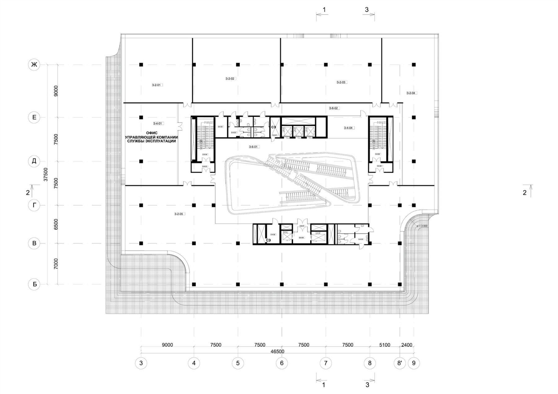 Zahahadidarchitects Dominionofficebuilding 13