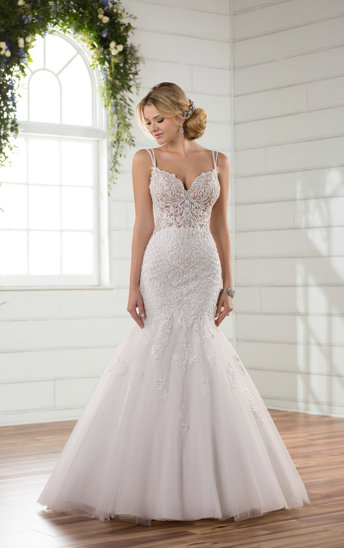 Mermaid Wedding Dresses | French lace, Mermaid wedding dresses and ...