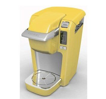 can I have this?    Keurig Mini Plus Personal Coffee Brewer - Yellow: Amazon.com: Kitchen & Dining