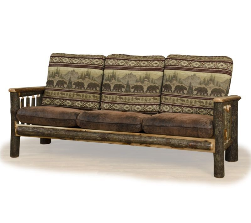 Rustic Camp Chair Sofa