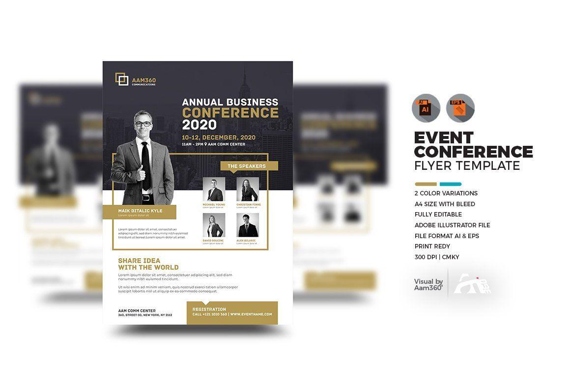 Speaker Event Flyer Template
